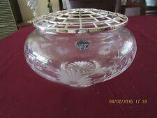 Stuart Crystal Rose Bowl