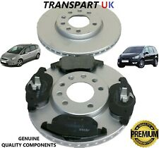 FORD S-MAX GALAXY FRONT BRAKE DISCS PADS SET 2007 TO 2015