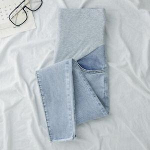 Winter Maternity Jeans for Pregnant Women Cotton Soft Pants Pregnancy Clothes