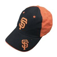 San Francisco Giants Mens Adjustable Strapback Hat MLB Baseball Cap Orange Black