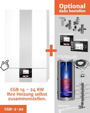 Wolf CGB-2 20 kW Gasbrennwerttherme Brennwert Gastherme Heiztherme Gasheizung