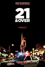 21 AND OVER - 27x40 D/S Original Movie Poster One Sheet 2013 Justin Chon