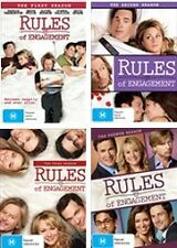 Rules Of Engagement COMPLETE  Season 1 - 4 : NEW DVD