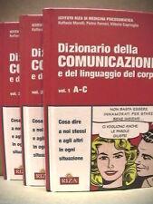 DIZIONARIO DELLA COMUNICAZIONE E DEL LINGUAGGIO TRE VOL