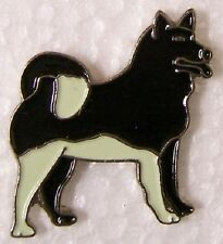 Hat Lapel Pin Scarf Clasp Dog Alaskan Malamute NEW
