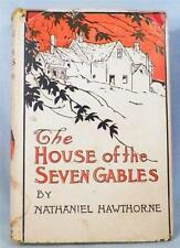 The House Of The Seven Gables Book Nathaniel Hawthorne A Romance Vintage 1930s