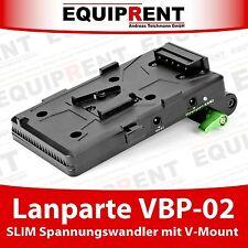 Lanparte VBP-02 SLIM V-Mount Spannungswandler für Rig / BMCC / BMPCC (EQC97)