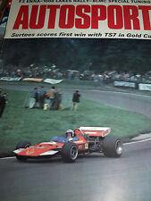 Jochen Rindt John Surtees la última gran batalla 1970 TS7 V F1 72 C Lotus