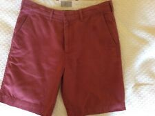 Marks and Spencer Coral Chino style shorts size 32 waist