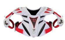 Youth Lacrosse Nwt Warrior Rabil Next Shoulder Pads Xs Unisex Mrsp $44.99