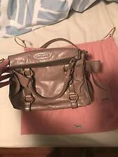 Authentic Miu Miu vitello lux bow bag
