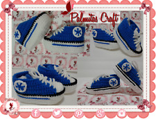 NEW Tennis CONVERSE Baby sneakers BLUE shoes slippers girl boy USA