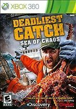 Deadliest Catch: Sea of Chaos (Microsoft Xbox 360, 2010) - BRAND NEW