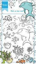 Marianne Design Clear Stamp - Hetty's Fish in the Reef HT1618