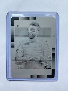 Bubba Wallace One of One Printing Plate 2021 Donruss!