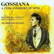 GOSSIANA: A 1920S ANTHOLOGY OF SONG NEW CD