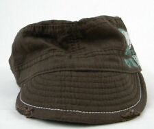 Roxy Women s Reversible Green and Brown Military Style Cadet Cap Hat . 49c47340031