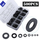 500X Nylon Flat Rubber O-Ring Seal Hose Gasket Repair Rubber Washer M2-M10 US photo