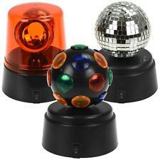 3pk Mini Party Light Set Mirror Disco Ball Fuzz Lights Home Christmas Birthday