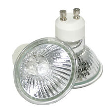 10x Halogen Leuchtmittel GU10 ALU Qualitäts Reflektor wahlweise 20W, 35W o. 50W