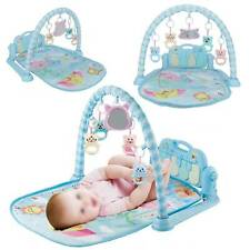 4 in 1 Baby Toy Gym Floor Play Mat Musical Activity Center Kick And Play Piano