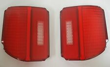 1969 Chevy Chevrolet Chevelle Tail Lamp Lens Pair 69