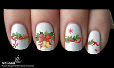 Christmas xmas Nail Art Sticker Water Transfer Decal Tattoo 38