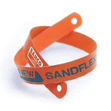Bahco 3906-300-32-5P 32 TPI Sand Flex Bi-Metal Hand Hacksaw Blade, Orange, 32 mm