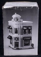 Dept 56 Snow Village Original STARBUCKS COFFEE Christmas Display 54859