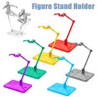 HG 1/144 Action Figure Base Stand Holder Display Fit For RG SD SHF Gundam Model