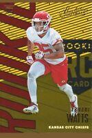 2018 Absolute Football #125 Armani Watts RC Kansas City Chiefs