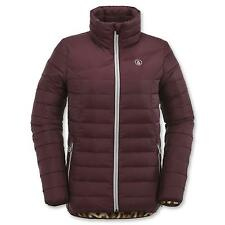 Volcom Women Casco Down Puff Snowboard Jacket (M) Port
