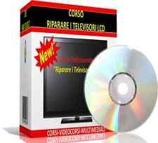 """CORSO PROFESSIONALE """"RIPARARE I TELEVISORI  LCD""""- CORSO ELETTRONICA - TV CORSO"""