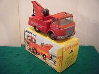 "French Dinky No: 589 ""Berliet Breakdown Lorry DEPANNAGE"" - Red (Original 1960's)"