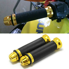 Black Red Motorcycle Hand Grips Rubber Gel Handle Bar For 2014-2017 Honda GROM