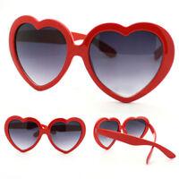 HN- Eye-Catching Funny Summer Love Heart Shape Lolita Sunglasses Sun Glasses Gif