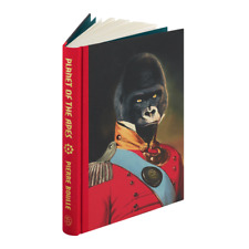 Planet Of The Apes ~ Pierre Boulle ~ Folio Society ~ Illus ~ Slipcased Gift Ed