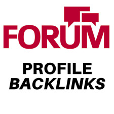 1000 forum profiles backlinks. Just £4.95 Limited Time Offer!