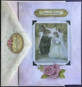 """NEW Note Card With Envelope - Wedding - Susan Wheeler - 5.5"""" X 7.25"""" - Pretty"""