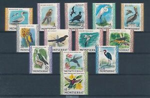 [G27691] Montserrat : Birds - Good Set of Very Fine MNH Stamps - $50
