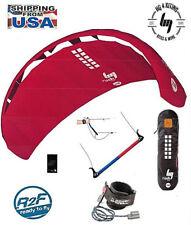 Hq4 Rush 250 Trainer Power Kite Foil kitesurfing + boarding + Kite Killer + Bar