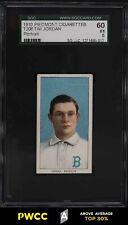 1909-11 T206 Tim Jordan PORTRAIT SGC 5 EX (PWCC-A)