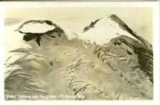 Mt. Rainier Wa Looking into the Crater Rppc