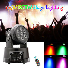 70W LED  RGBW Moving Head Beam Light Stage Lighting DMX512 For Party KTV Disco