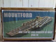 Mountford Miniatures USS Ronald Reagan CVN76 1:1250 Scale Model Aircraft Carrier