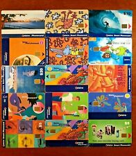 TELSTRA TELECOM SMART PHONECARDS 15 IN TOTAL!