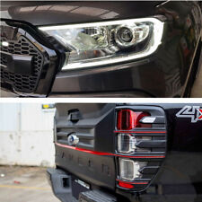 For Ford Ranger 2015-2017 Headlights Cover With Led+Taillights Trim Rhino Series