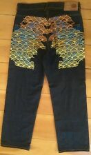Year Of The Pig Jeans Oceans Twelve Rare Men's Size 36 x 34 Street Wear