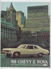 1968  Chevrolet Chevy ll Nova Brochure