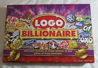 Logo Billionaire Board Game By Drumond Park Complete Very Good Condition